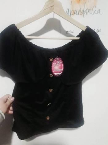 Foto Carousel Producto: Blusa cuello bandeja Talla unica  GoTrendier