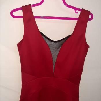 Foto Carousel Producto: Vestido Rojo con malla GoTrendier