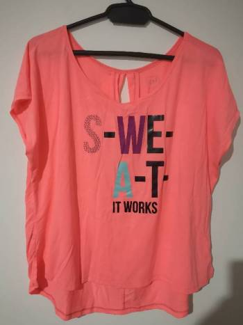 Foto Carousel Producto: Camiseta para hacer ejercicio  GoTrendier