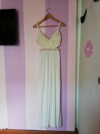 Foto Carousel Producto: Vestido largo blanco.  GoTrendier