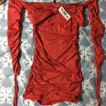 Foto Carousel Producto: Vestido rojo mini GoTrendier