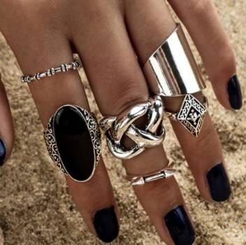 Foto Carousel Producto: Conjunto de anillos GoTrendier