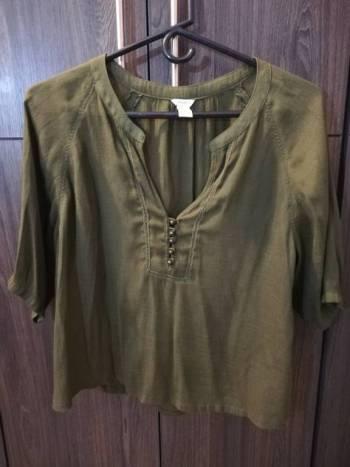 Foto Carousel Producto: Camisa verde militar GoTrendier