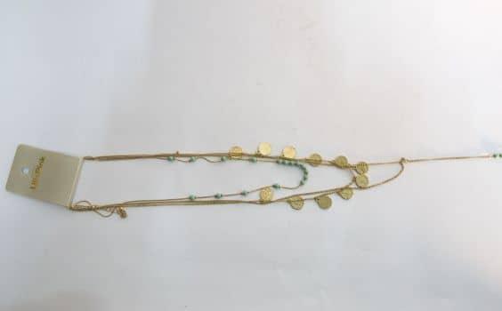 Foto Carousel Producto: Collar largo con dine GoTrendier
