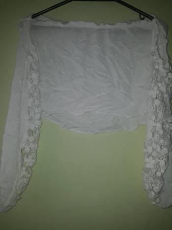 Foto Carousel Producto: Crop top blanco  GoTrendier