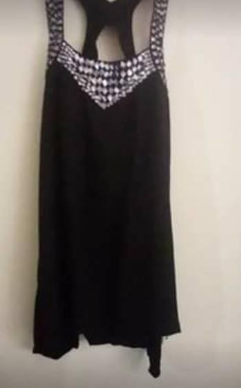 Foto Carousel Producto: Vestido ELA talla S M con apliques GoTrendier