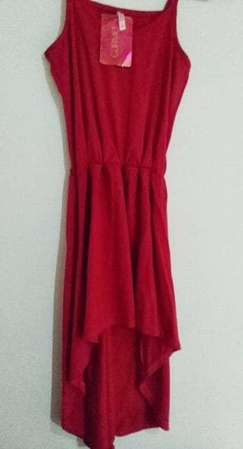 Foto Carousel Producto: Vestido Rojo... GoTrendier