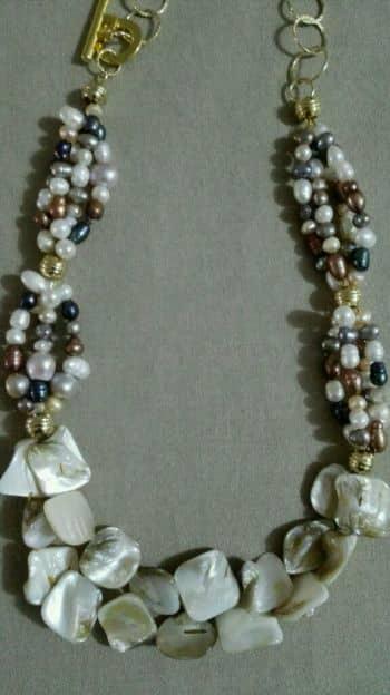 Foto Carousel Producto: Collar de perlas cultivadas y nacar GoTrendier