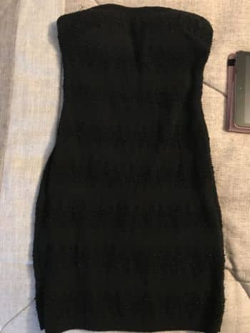 Foto Carousel Producto: Vestido strapless GoTrendier