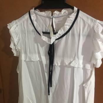 Foto Carousel Producto: Blusa sisa blanca  GoTrendier