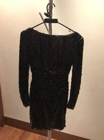 Foto Carousel Producto: Vestido negro fiesta lentejuleas GoTrendier