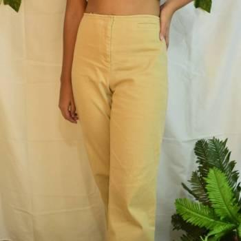 Foto Carousel Producto: Pantalón beige tiro alto GoTrendier