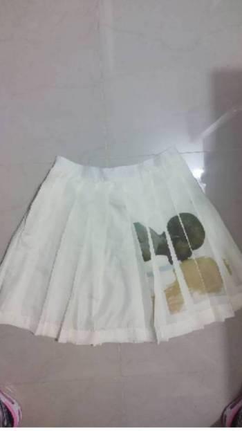Foto Carousel Producto: Falda plisada estampada GoTrendier