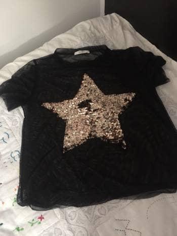 Foto Carousel Producto: Blusa Negra Estrella GoTrendier