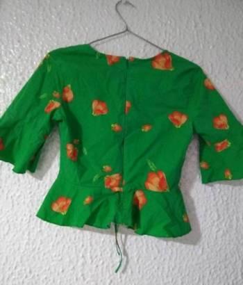 Foto Carousel Producto: Blusa verde  GoTrendier