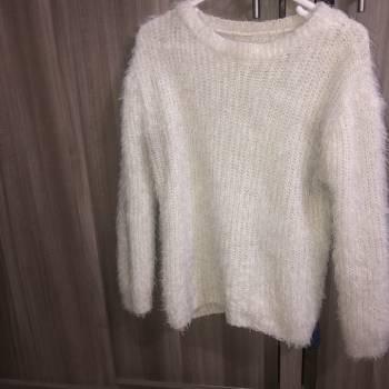 Foto Carousel Producto: Sweater blanco de Shein  GoTrendier