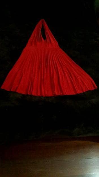 Foto Carousel Producto: Halter Dress Red GoTrendier