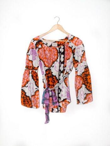 Foto Carousel Producto: Blusa multicolor manga larga GoTrendier