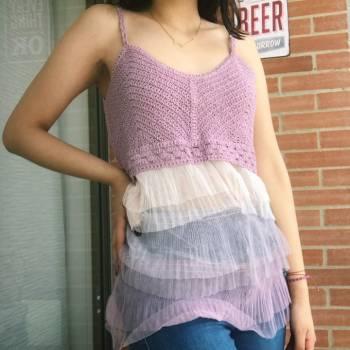 Foto Carousel Producto: Blusita en crochet GoTrendier