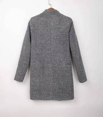 Foto Carousel Producto: Abrigo tejido (Tweed) GoTrendier