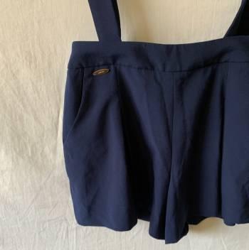 Foto Carousel Producto: ELISANG005  Short azul oscuro con tiras GoTrendier