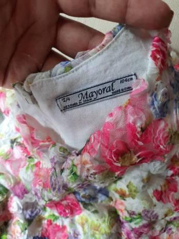Foto Carousel Producto: Vestido de flores marca mayoral  GoTrendier