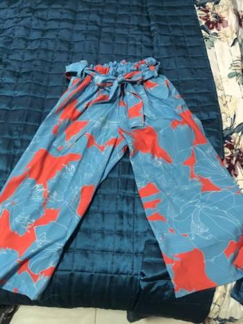 Foto Carousel Producto: Pantalon culotte estampado GoTrendier