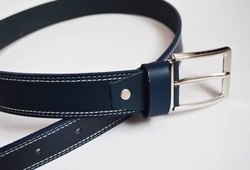 Foto Carousel Producto: Cinturón de cuero, Color azul oscuro GoTrendier