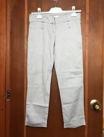 Foto Carousel Producto: Pantalon capri dril gris!! GoTrendier