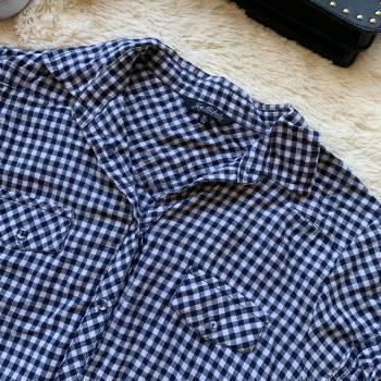 Foto Carousel Producto: PACA002  Blusa de cuadros GoTrendier