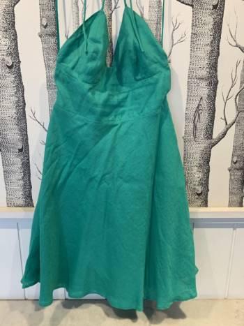 Foto Carousel Producto: Vestido lino Azulu GoTrendier