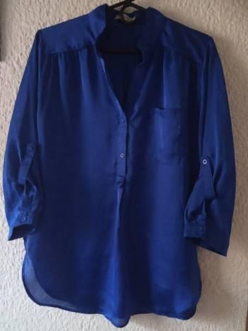Foto Carousel Producto: Blusa azúl rey GoTrendier