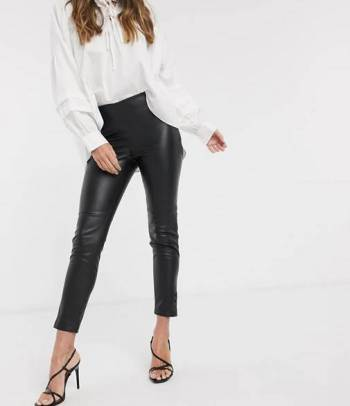Foto Carousel Producto: Pantalón skinny negro MANGO GoTrendier