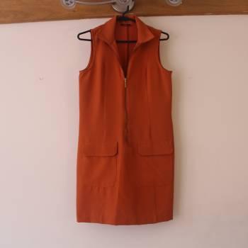 Foto Carousel Producto: Vestido clásico naranja GoTrendier