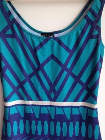 Foto Carousel Producto: Vestido azul rayas GoTrendier