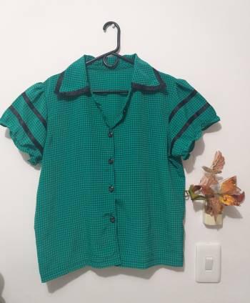 Foto Carousel Producto: Camisa verde GoTrendier