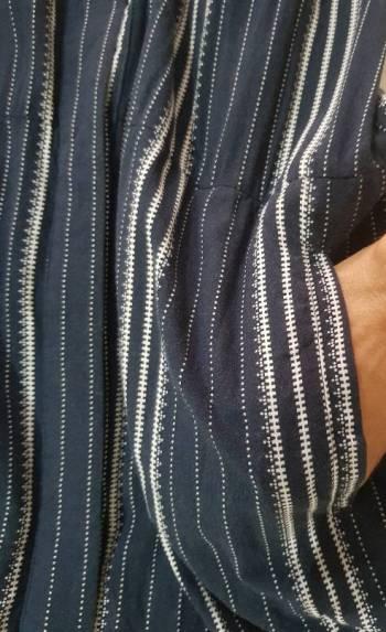 Foto Carousel Producto: Vestido camisero a rayas GoTrendier