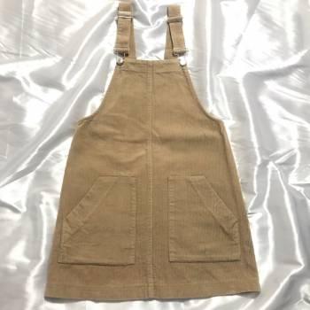 Foto Carousel Producto: Vestido overol en pana  GoTrendier