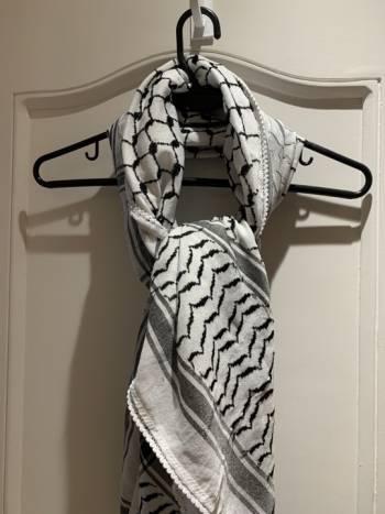 Foto Carousel Producto: Bufanda turca blanca  GoTrendier