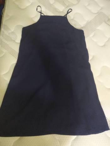 Foto Carousel Producto: Vestido talego azul Turquí GoTrendier