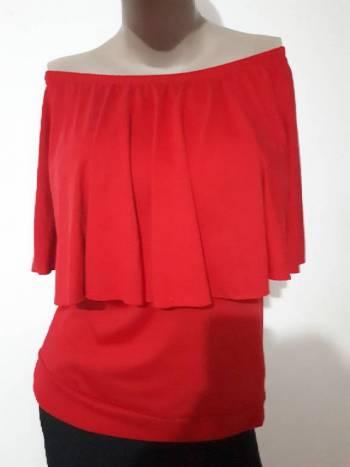 Foto Carousel Producto: Blusa campesina roja  L - XL  GoTrendier