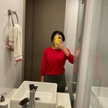 Foto Carousel Producto: Saco rojo tejido  GoTrendier