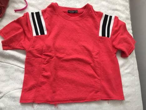 Foto Carousel Producto: Camisa roja corta GoTrendier