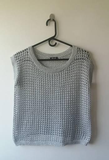 Foto Carousel Producto: Blusa tejida gris GoTrendier