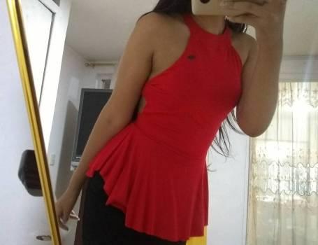 Foto Carousel Producto: Blusa roja SENCILLA GoTrendier