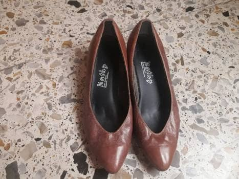 Foto Carousel Producto: Zapatos de tacón 100% cuero  GoTrendier