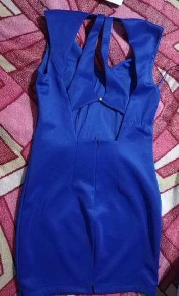 Foto Carousel Producto: Ceatido azul con escote GoTrendier