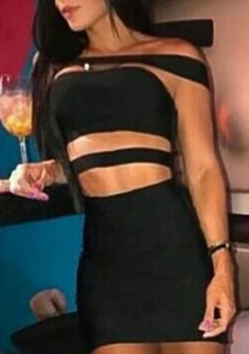 Foto Carousel Producto: Vestido negro escote GoTrendier