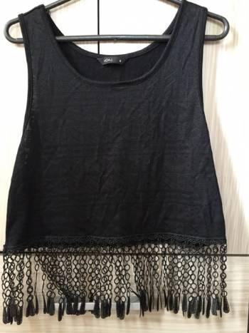 Foto Carousel Producto: Blusa negra boleros  GoTrendier