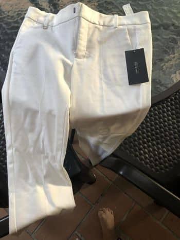 Foto Carousel Producto: Pantalon blanco zara GoTrendier